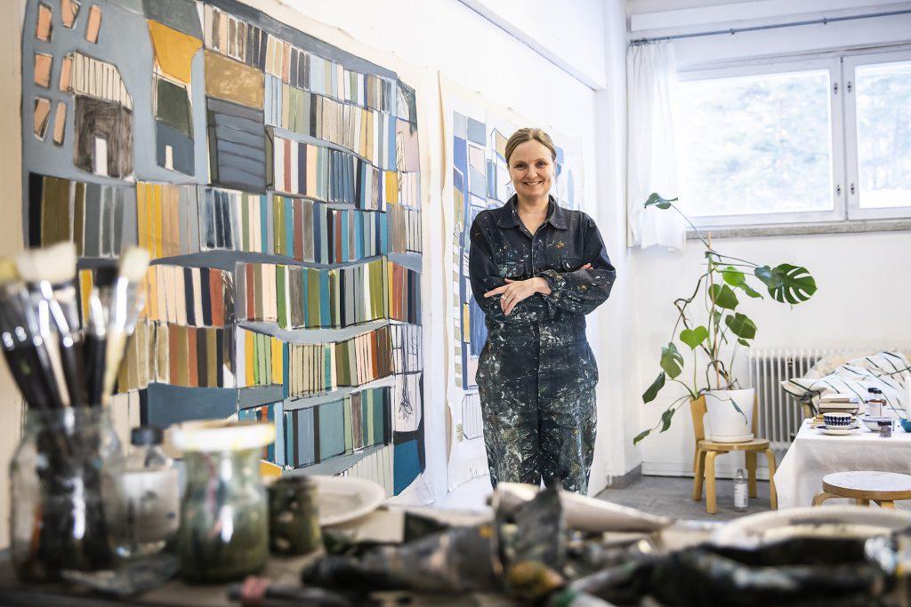 kuvataiteilija Heidi Toiviainen