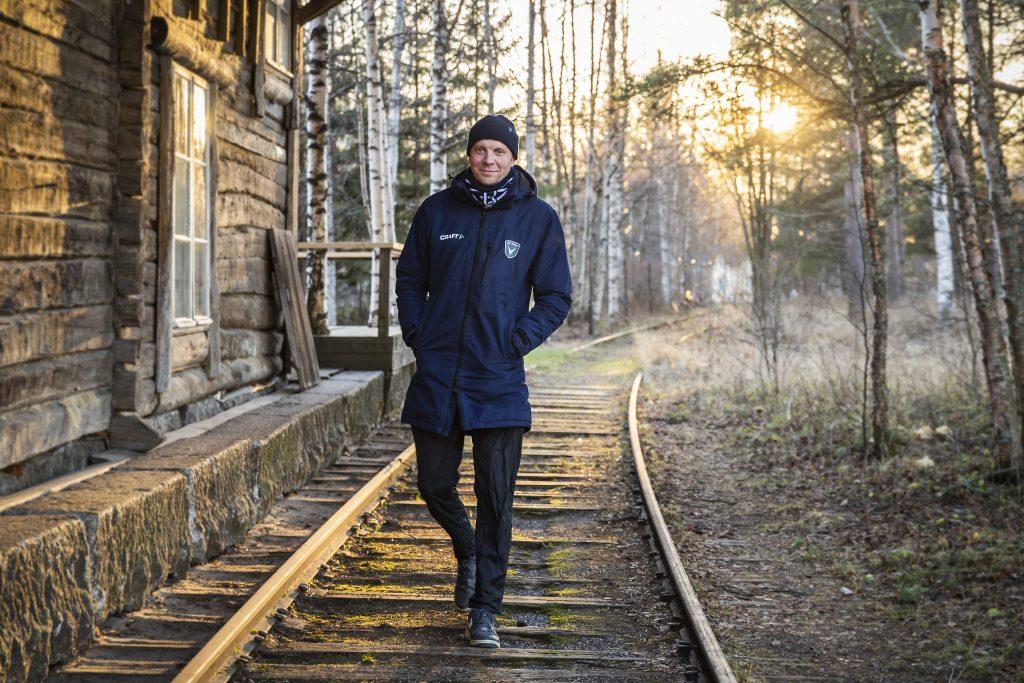 AC Oulun toimitusjohtajan Juho Meriläinen.