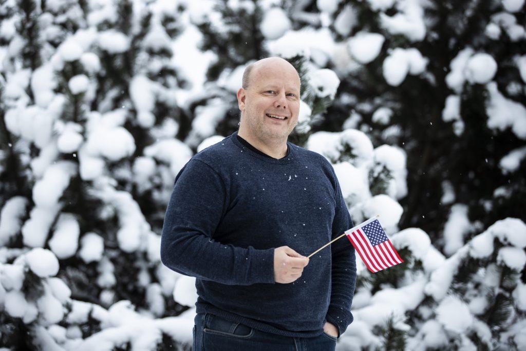 Suomen ja Yhdysvaltain kaksoiskansalainen Jukka Ahola